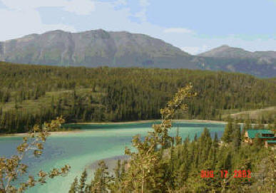 Emerald Lake near Whitehorse